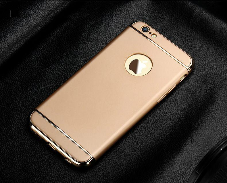 Накладка, задняя панель Elitecover для iPhone 6/6S gold