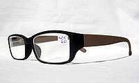 Стильные коррегирующие очки 8196  (вставка Изюмское (стекло)