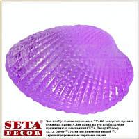 Декор фигурка камушек для аквариума Ракушка 2х1,5 см