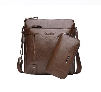 Чоловіча шкіряна сумка. Модель 61182