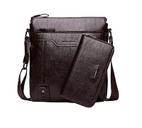 Чоловіча шкіряна сумка. Модель 61182, фото 4