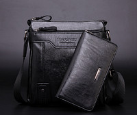 Чоловіча шкіряна сумка. Модель 61182, фото 7
