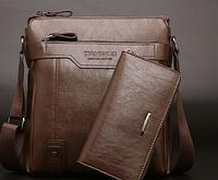 Чоловіча шкіряна сумка. Модель 61182, фото 10