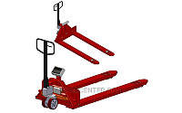 Роклас весами 4BDU2000P-ВШ бюджет 830x1200 мм, до 2000 кг (широкие вила)