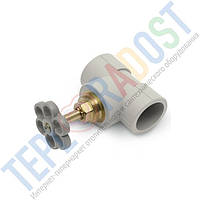 KAN-therm РР Запорный проходной вентиль для открытого монтажа 25
