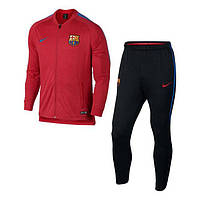 Спортивный костюм Nike FC Barcelona Trainingspak 2017-2018 854341-660