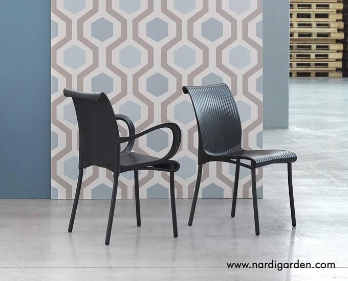 Крісло з підлокітниками  Dama burro 61Х58,5Х86 см  4 кольори