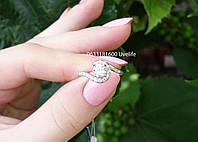 Элегантное кольцо с камнями, фото 1