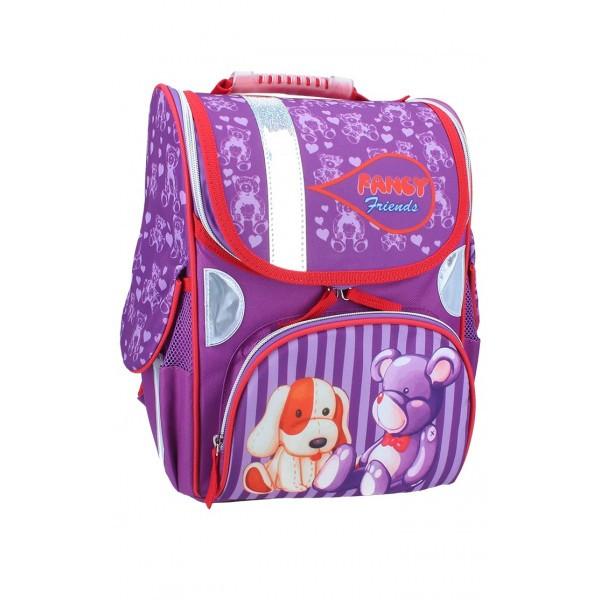 Рюкзак ранец школьный каркасный Toys RAINBOW 7-501