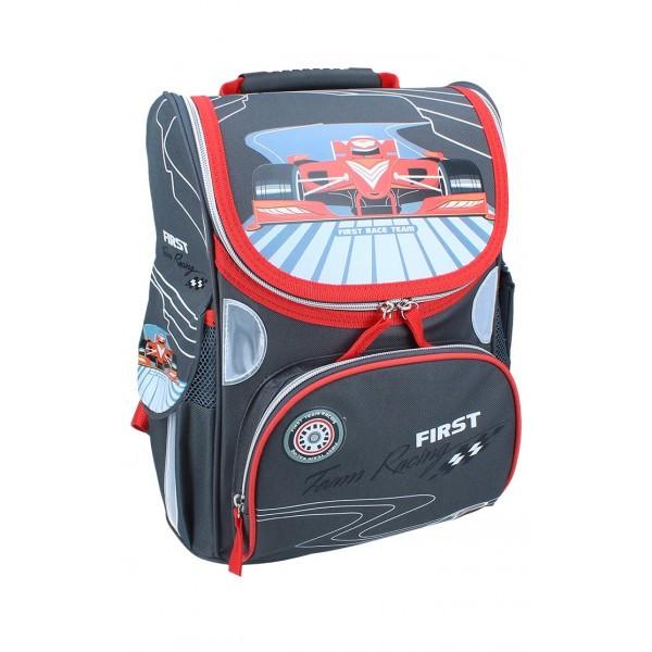 Рюкзак ранец школьный каркасный First RAINBOW