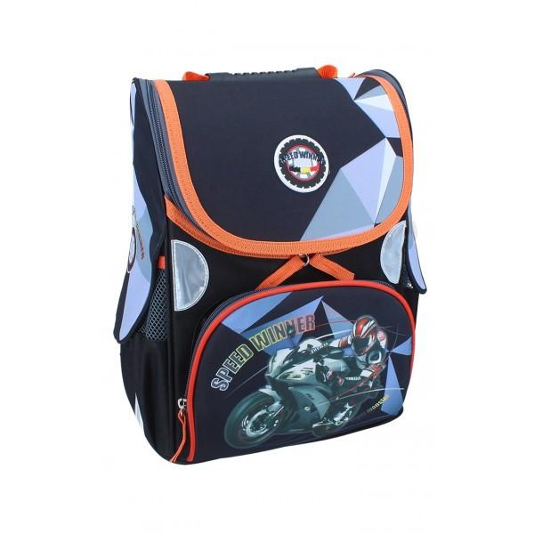 Рюкзак ранец школьный каркасный Winner RAINBOW