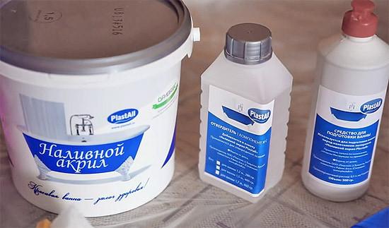 Наливной акрил Plastall (ванна 1,5 метра) - Про Климат  в Киеве