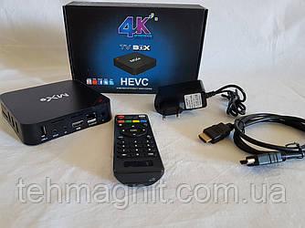 СМАРТ ПРИСТАВКИ ДЛЯ ТВ MX9 Smart Box TV Android Приставка смарт ТВ ( Копия )