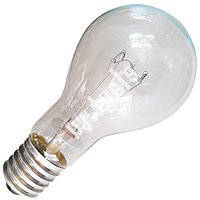 Лампа накаливания А55 обыкн. прозрачная 100W E27