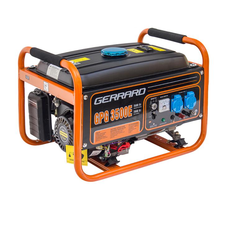 Бензиновый генератор Gerrard GPG3500E (44066)