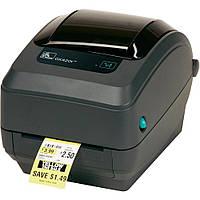 Принтер этикеток Zebra GK420t термотрансферная печать