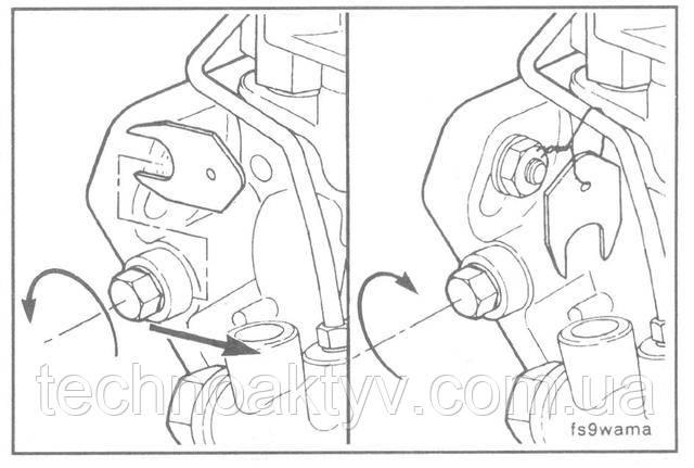 Специальную шайбу на топливном насосе Bosch необходимо снять, чтобы стопорный винт можно было затянуть до упора в вал.