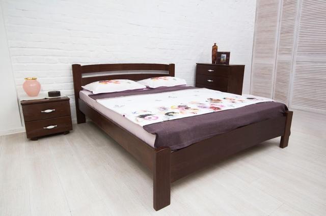 Кровать односпальная Милана Люкс цвет венге