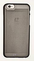 Чехол на Айфон 6/6s Soft Touch Loopee мягкий Пластик Черный, фото 1