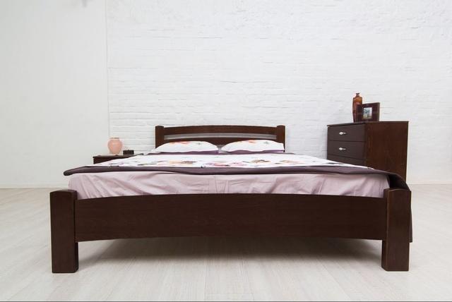 Кровать односпальная Милана Люкс цвет венге (фото 2)