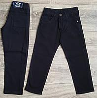 Штаны,джинсы для мальчика 5-8 лет(школа черные) пр.Турция