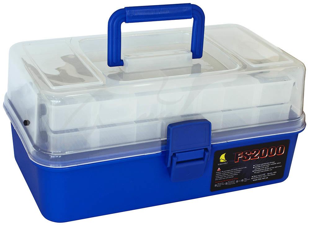 Ящик Marco Polo FS2000 blue 2-х полочный 29х16х14см. (1694.20.00 FS2000 blue)
