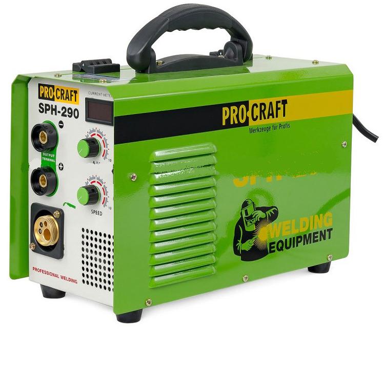 Сварочный полуавтомат инверторный ProCraft SPH-290