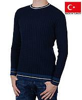 Вязаный пуловер.