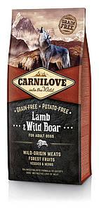 Carnilove Lamb & Wild Boar 12 kg (корм для взрослых собак с ягненком и диким кабаном)
