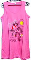 Ночная рубашка - туника Турция 100% хлопок размер XXL (наш размер 48-50)