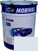 Автокраска (автоэмаль) Mobihel алкид 202 Снежно- белая 1л.