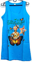 Ночная рубашка - туника Турция 100% хлопок размер M (наш размер 42-44)