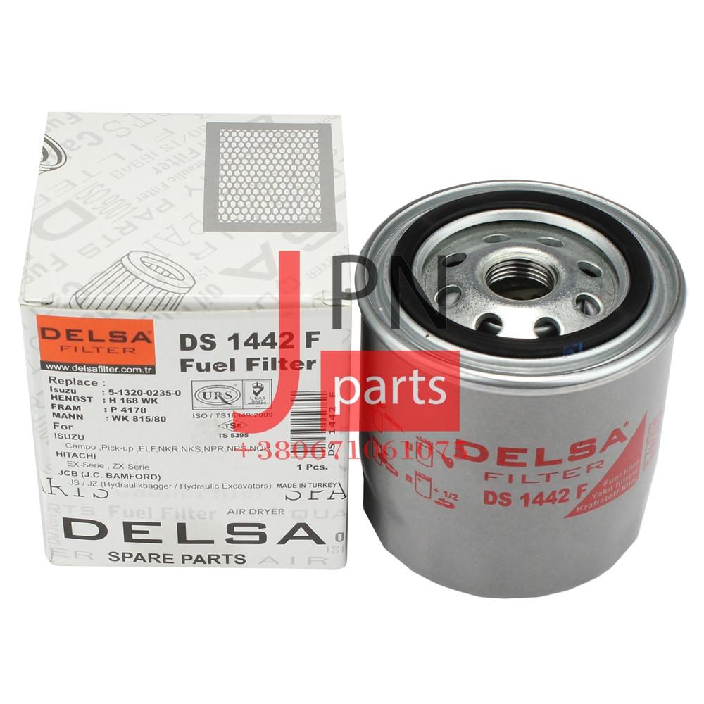 Фільтр паливний БОГДАН 4HG1/4HG1T/4HK1T E1/E2/E3 (8971161250/5876100220/8971725490) DELSA