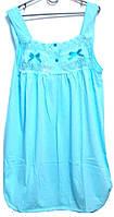 Ночная рубашка ажур Турция 100% хлопок размер XL (наш размер 48-50)