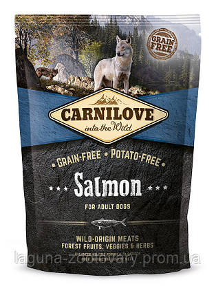 Carnilove Salmon Adult 1,5 kg (корм для взрослых собак с лососем), фото 2