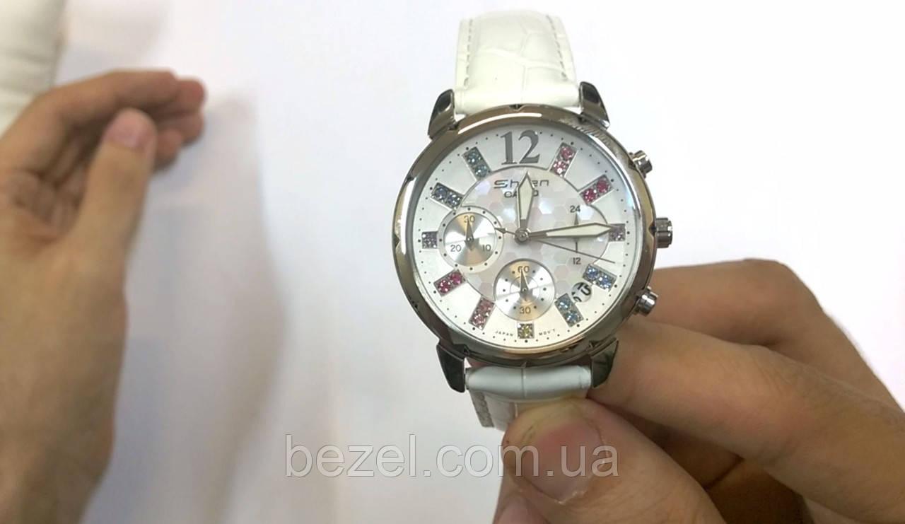 Женские часы Casio SHN-5012LP-7A Мужские часы Orient UN3T003D