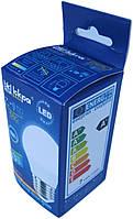 Лампа светодиодная шар Iskra LED 7W (аналог 50 Вт) цоколь E27 колба G45 4000K (белый свет)