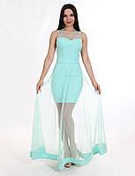 Enigma Store P 0607 Коктейльное платье со съемной юбкой