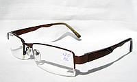 Стильные очки для зрения модель ЕАЕ 7803 (рмц 62)  (вставка Изюмское стекло)