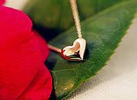 Женская цепочка с подвеской Сердечко