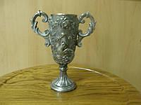 Кубок старинный с серебрением