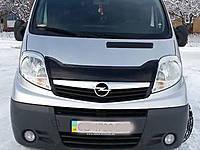 Мухобойка Renault Trafiс 01- /Opel Vivaro FLY короткая