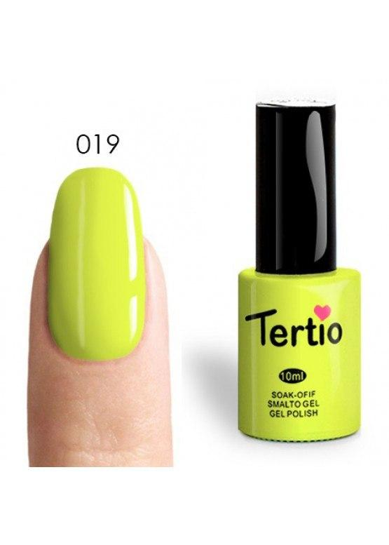 Гель-лак №019 Tertio (ярко-желтый ), 10 мл