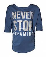"""Стильная летняя футболка фирмы Byblos необычного покроя """"летучая мышка"""""""