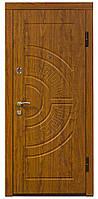 """Входная бронированная дверь """"Кордон"""" модель Оптима++, цвет Дуб золотой"""