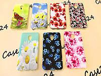 TPU чехол Print для Meizu M5 цветочная серия