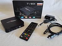 Приставка смарт MX PRO Q 4K TV BOX Internet TV, Приставка смарт ТВ Android Smart TV  ( Копия )