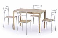 Комплект обеденный Avant Halmar (стол + 4 стула)