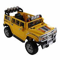 Электромобиль Hummer Yellow