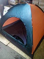 Трехместная палатка туристическая водонепроницаемая для кемпинга, рыбалки R17761
